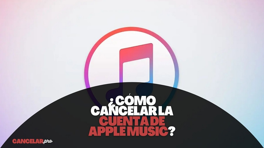 como cancelar apple music